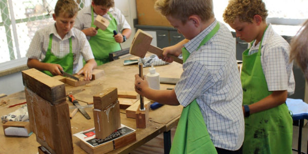 Junior School Woodwork